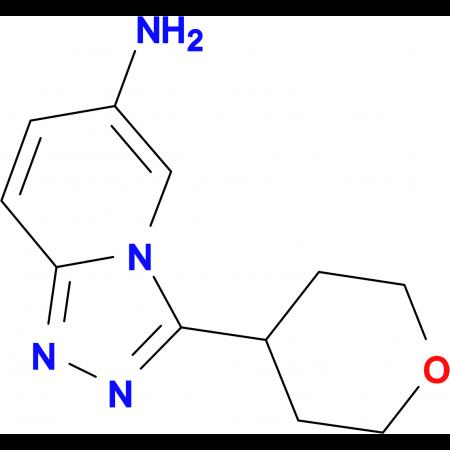 3-(Oxan-4-yl)-[1,2,4]triazolo[4,3-a]pyridin-6-amine