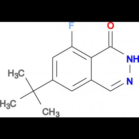 6-(tert-Butyl)-8-fluorophthalazin-1(2H)-one