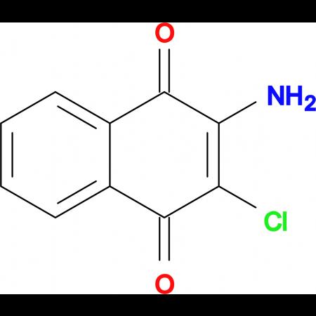 2-Amino-3-chloronaphthalene-1,4-dione