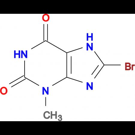 8-Bromo-3-methyl-1H-purine-2,6(3H,7H)-dione