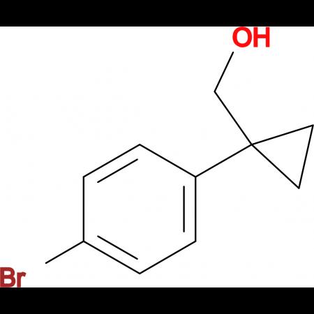 (1-(4-Bromophenyl)cyclopropyl)methanol