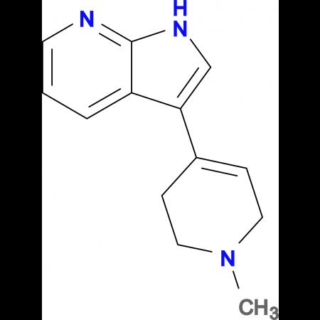 3-(1-Methyl-1,2,3,6-tetrahydropyridin-4-yl)-1H-pyrrolo[2,3-b]pyridine