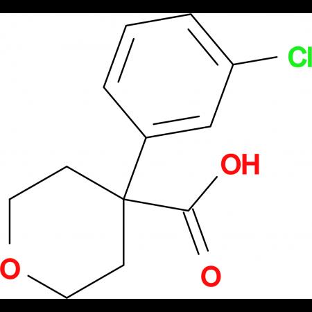 4-(3-Chlorophenyl)tetrahydro-2H-pyran-4-carboxylic acid