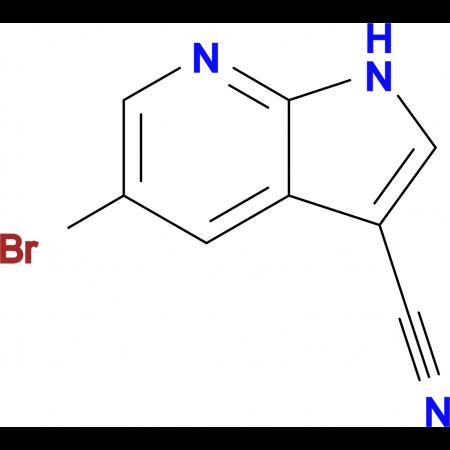 5-Bromo-1H-pyrrolo[2,3-b]pyridine-3-carbonitrile