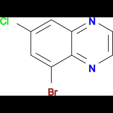 5-Bromo-7-chloroquinoxaline