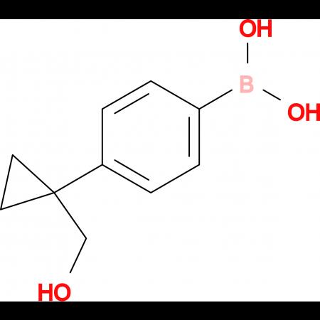 (4-(1-(Hydroxymethyl)cyclopropyl)phenyl)boronic acid