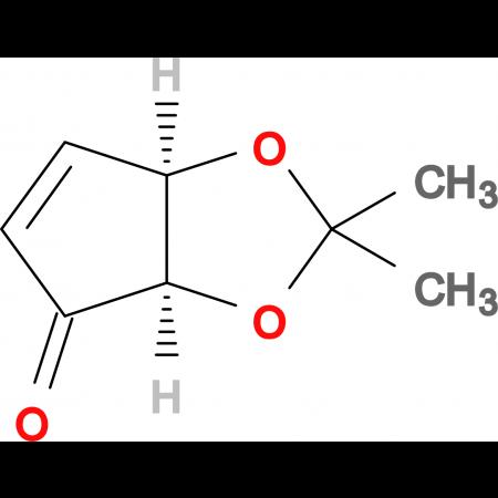 (3aR,6aR)-2,2-Dimethyl-3aH-cyclopenta[d][1,3]dioxol-4(6aH)-one