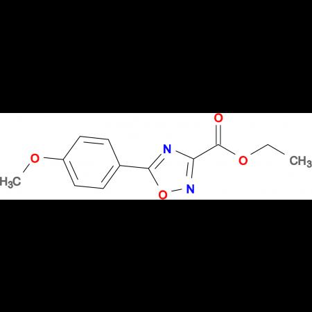 Ethyl 5-(4-methoxyphenyl)-1,2,4-oxadiazole-3-carboxylate