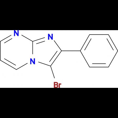 3-Bromo-2-phenylimidazo[1,2-a]pyrimidine