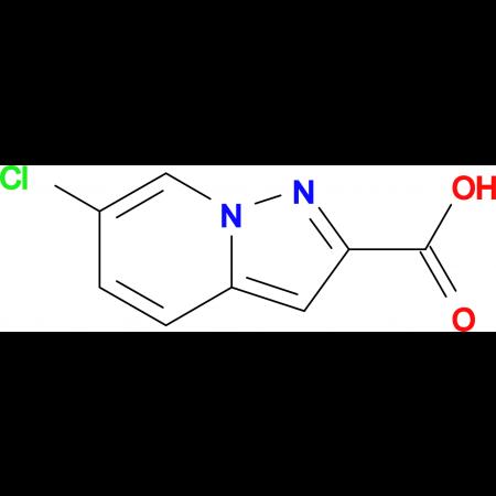 6-Chloropyrazolo[1,5-a]pyridine-2-carboxylic acid