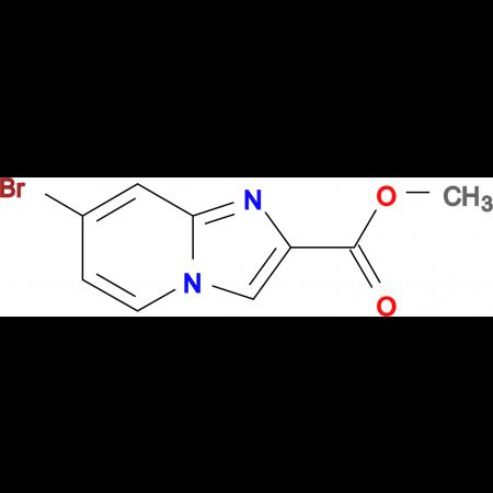 Methyl 7-bromoimidazo[1,2-a]pyridine-2-carboxylate