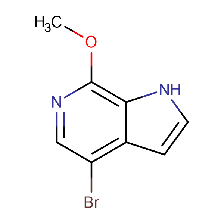4-Bromo-7-methoxy-1H-pyrrolo[2,3-c]pyridine