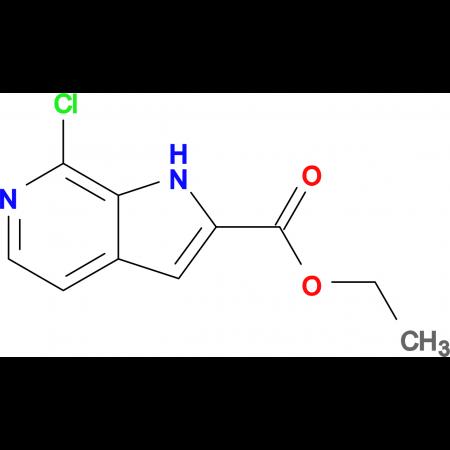 Ethyl 7-chloro-1H-pyrrolo[2,3-c]pyridine-2-carboxylate
