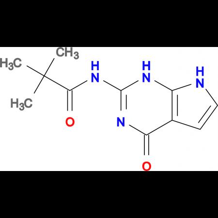 N-(4-Oxo-4,7-dihydro-1H-pyrrolo[2,3-d]pyrimidin-2-yl)pivalamide