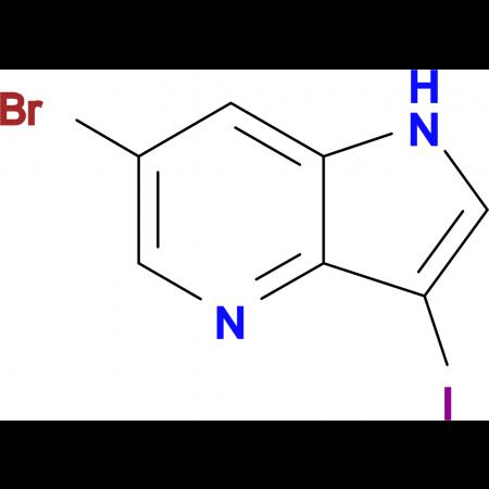 6-Bromo-3-iodo-1H-pyrrolo[3,2-b]pyridine