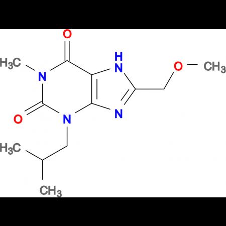 3-Isobutyl-8-(methoxymethyl)-1-methyl-1H-purine-2,6(3H,7H)-dione