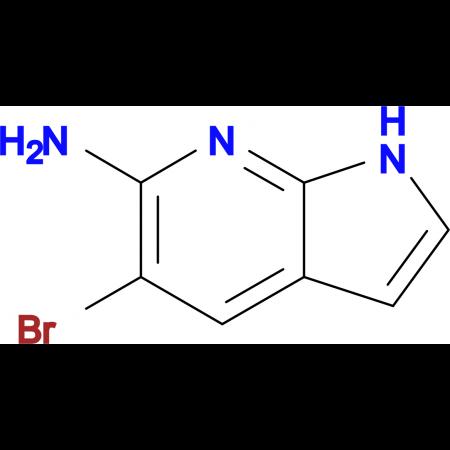 5-Bromo-1H-pyrrolo[2,3-b]pyridin-6-amine