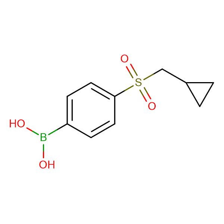 (4-((Cyclopropylmethyl)sulfonyl)phenyl)boronic acid