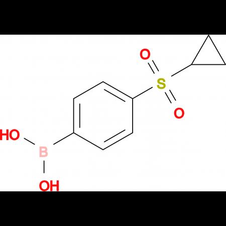 (4-(Cyclopropylsulfonyl)phenyl)boronic acid