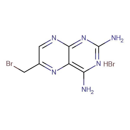 6-(Bromomethyl)-2,4-pteridinediamine hydrobromide