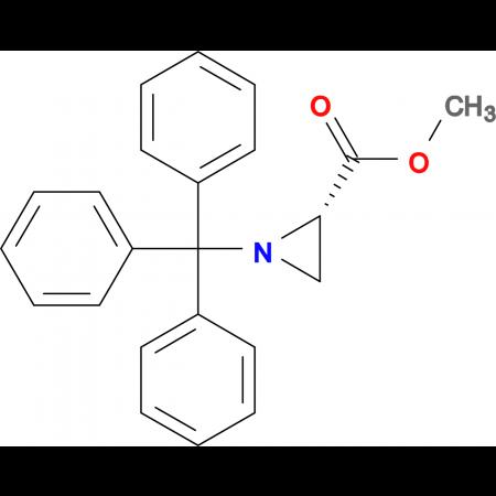 (S)-Methyl 1-tritylaziridine-2-carboxylate