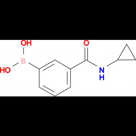 (3-(Cyclopropylcarbamoyl)phenyl)boronic acid