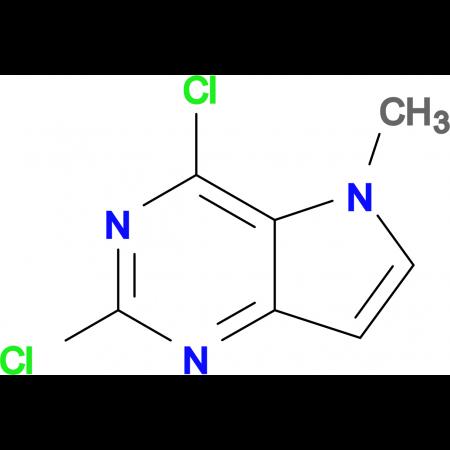 2,4-Dichloro-5-methyl-5H-pyrrolo[3,2-d]pyrimidine