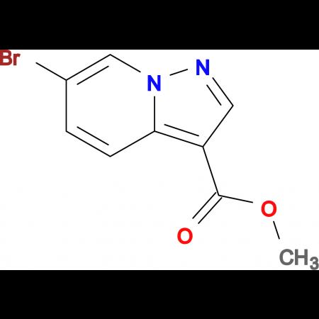Methyl 6-bromopyrazolo[1,5-a]pyridine-3-carboxylate