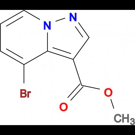 Methyl 4-bromopyrazolo[1,5-a]pyridine-3-carboxylate