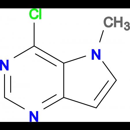 4-Chloro-5-methyl-5H-pyrrolo[3,2-d]pyrimidine