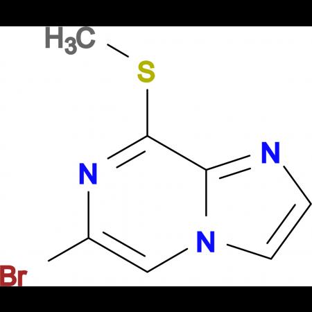 6-Bromo-8-(methylthio)imidazo[1,2-a]pyrazine