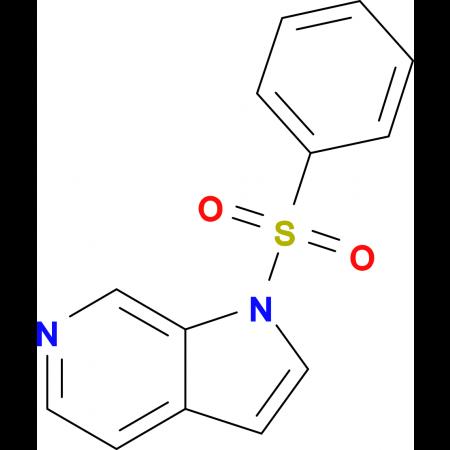 1-(Phenylsulfonyl)-1H-pyrrolo[2,3-c]pyridine