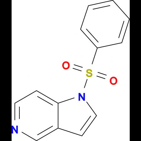 1-(Phenylsulfonyl)-1H-pyrrolo[3,2-c]pyridine