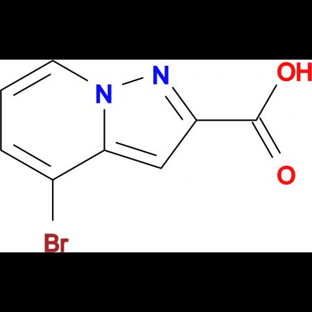 4-Bromopyrazolo[1,5-a]pyridine-2-carboxylic acid