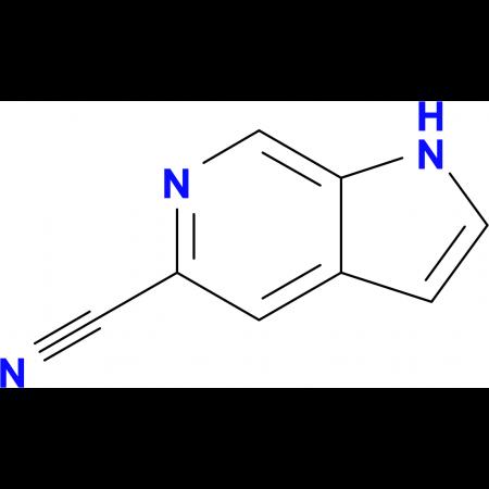 1H-Pyrrolo[2,3-c]pyridine-5-carbonitrile