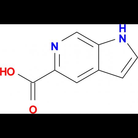 1H-Pyrrolo[2,3-c]pyridine-5-carboxylic acid