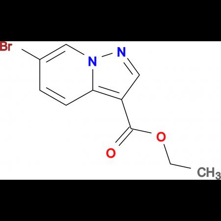 Ethyl 6-bromopyrazolo[1,5-a]pyridine-3-carboxylate