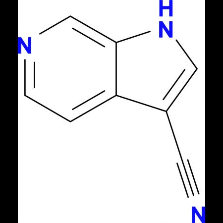 1H-Pyrrolo[2,3-c]pyridine-3-carbonitrile