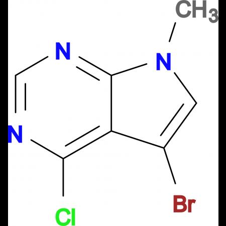 5-Bromo-4-chloro-7-methyl-7H-pyrrolo[2,3-d]pyrimidine
