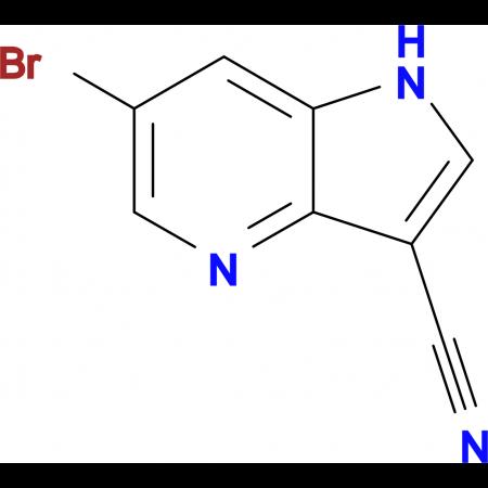 6-Bromo-1H-pyrrolo[3,2-b]pyridine-3-carbonitrile