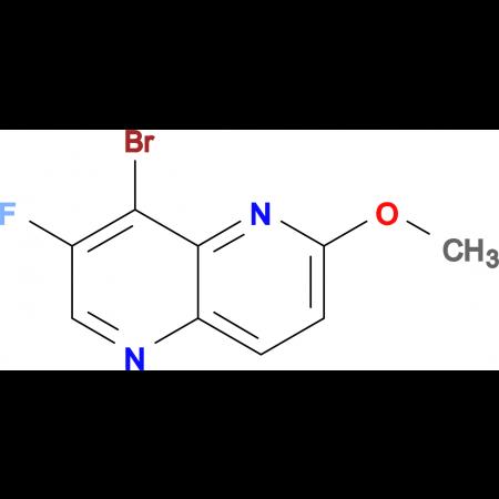 8-Bromo-7-fluoro-2-methoxy-1,5-naphthyridine