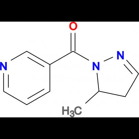 (5-Methyl-4,5-dihydro-1H-pyrazol-1-yl)(pyridin-3-yl)methanone