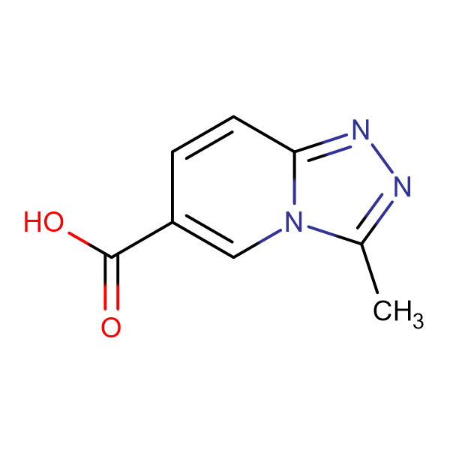 3-Methyl-[1,2,4]triazolo[4,3-a]pyridine-6-carboxylic acid