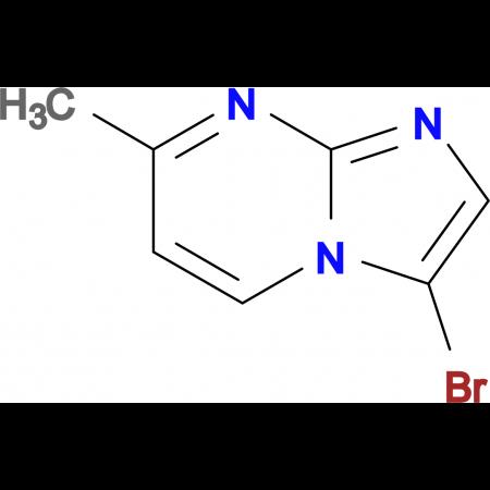 3-Bromo-7-methylimidazo[1,2-a]pyrimidine