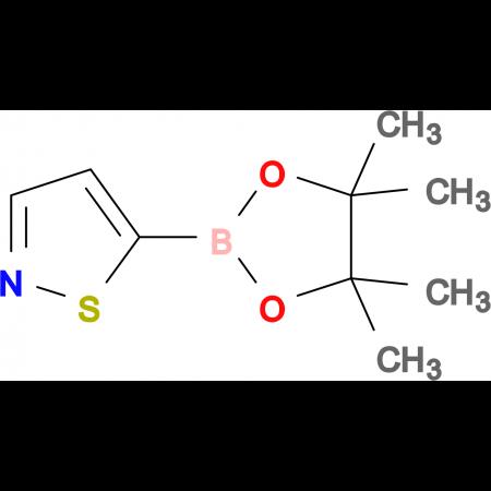 5-(4,4,5,5-Tetramethyl-1,3,2-dioxaborolan-2-yl)isothiazole