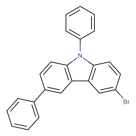 3-Bromo-6,9-diphenyl-9H-carbazole