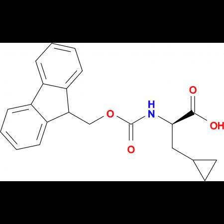 (R)-2-((((9H-Fluoren-9-yl)methoxy)carbonyl)amino)-3-cyclopropylpropanoic acid