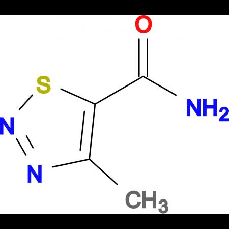 4-Methyl-1,2,3-thiadiazole-5-carboxamide