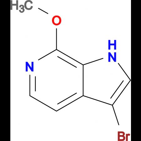 3-Bromo-7-methoxy-1H-pyrrolo[2,3-c]pyridine
