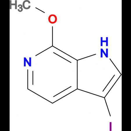 3-Iodo-7-methoxy-1H-pyrrolo[2,3-c]pyridine